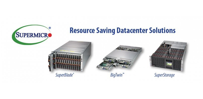 Supermicro Accelerates IT Innovation with Resource Saving Datacenter Solutions at CloudFest 2018
