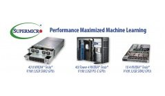 Supermicro's New Scale-Up Artificial Intelligence and Machine Learning Systems with 8 NVIDIA Tesla V100 with NVLink GPUs Deliver Superior Performance and System Density