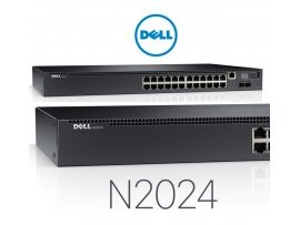 Switch Dell Networking X1008P Smart Web Managed Switch, 8x 1GbE PoE ports