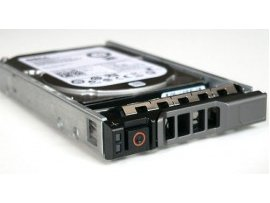 HDD Dell 600GB 10K RPM SAS 2.5in Hot-plug Hard Drive,3.5in HYB CARR,CusKit