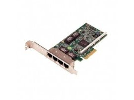 Dell Broadcom 5720 QP 1Gb Network Interface Card,Full Height