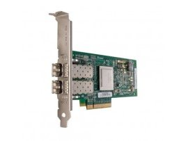 Dell Qlogic 2562 Dual Channel 8Gb Optical Fibre Channel HBA PCIe, Low Profile