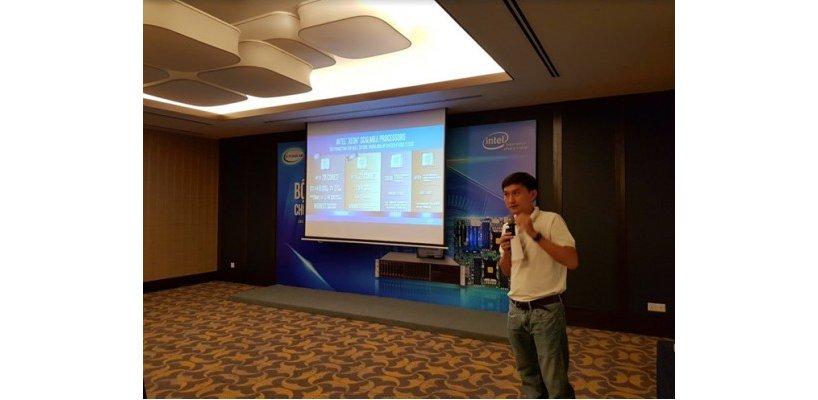 Thanhnien - Intel giới thiệu giải pháp tối ưu xử lý thông tin và an toàn dữ liệu.
