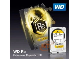 "HDD WD RE 3.5"" 4TB SATA 6Gb/s 7.2K RPM 64M, WD4000FYYZ"