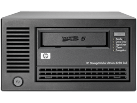 HP LTO-5 Ultrium 3280 SAS External Tape Drive (EH900B)