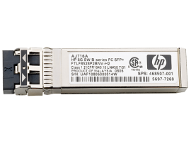 HPE 8Gb Shortwave B-series Fibre Channel 1 Pack SFP+ Transceiver - AJ716B
