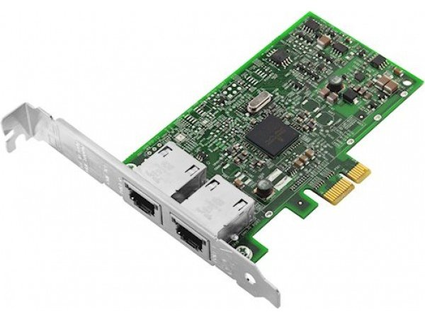 Lenovo ThinkSystem I350-T2 PCIe 1Gb 2-Port RJ45 Ethernet Adapter - 7ZT7A00534