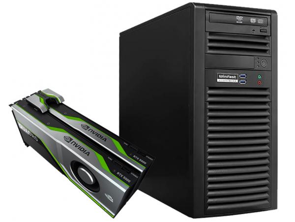 Máy Chủ LEADTEK Workstation For AI WinFast WS830 & RTX 5000x2