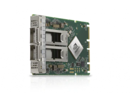 NVIDIA MCX623436AN-CDAB ConnectX-6 Dx EN Adapter Card 100GbE OCP 3.0 with Host Management Dual-Port QSFP56 PCIe 4.0 x16 No Crypto Thumbscrew Pull Tab Bracket