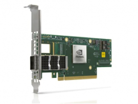 NVIDIA MCX653105A-ECAT-SP ConnectX-6 VPI Adapter Card HDR100 EDR InfiniBand and 100GbE Single-Port QSFP56 PCIe 3.0/4.0 x16 Tall Bracket (-SP indicates Single Pack)