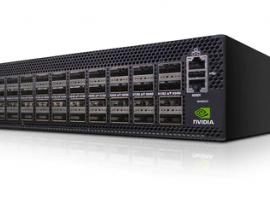 NVIDIA MSN4600-CS2RO Spectrum-3 Based 100GbE 2U Open Ethernet Switch Bare Metal with ONIE 64 QSFP28 Ports 2 Power Supplies (AC) x86 CPU Standard Depth C2P Airflow Rail Kit