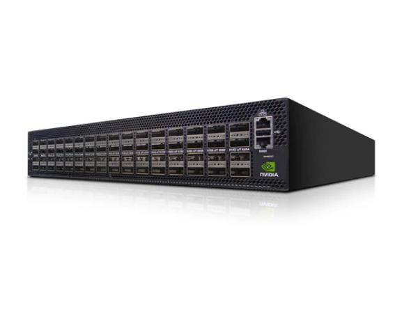 NVIDIA MSN4600-CS2RC Spectrum-3 Based 100GbE 2U Open Ethernet Switch with Cumulus Linux 64 QSFP28 Ports 2 Power Supplies (AC) x86 CPU Standard Depth C2P Airflow Rail Kit