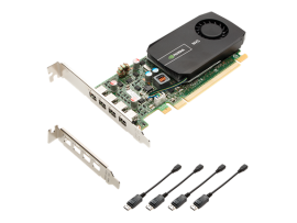 NVIDIA PNY NVS 510 2GB DDR3 PCIe 2.0 - Low Profile, Display Port, AOC-GPU-NVS510DP