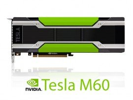 NVIDIA Tesla M60 16GB GDDR5 PCIe 3.0 - Passive, Left-to-Right Airflow, GPU-NVTM60-LR