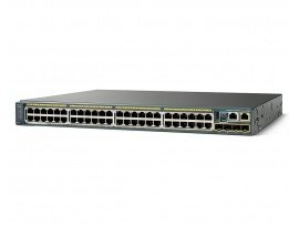 Cisco Catalyst 2960-X 48 GigE PoE 740W, 2 x 10G SFP+, LAN Base, WS-C2960X-48FPD-L