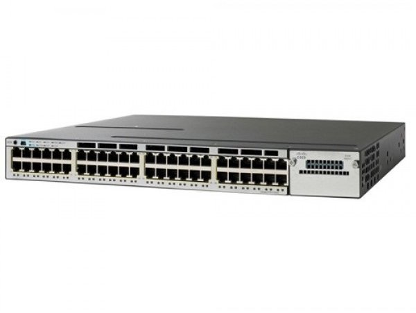 Cisco Catalyst 2960-X 48 GigE PoE 370W, 2 x 10G SFP+ LAN Base, WS-C2960X-48LPD-L