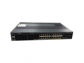 Cisco Catalyst 2960-X 48 GigE PoE 370W, 4 x 1G SFP, LAN Base, WS-C2960X-48LPS-L
