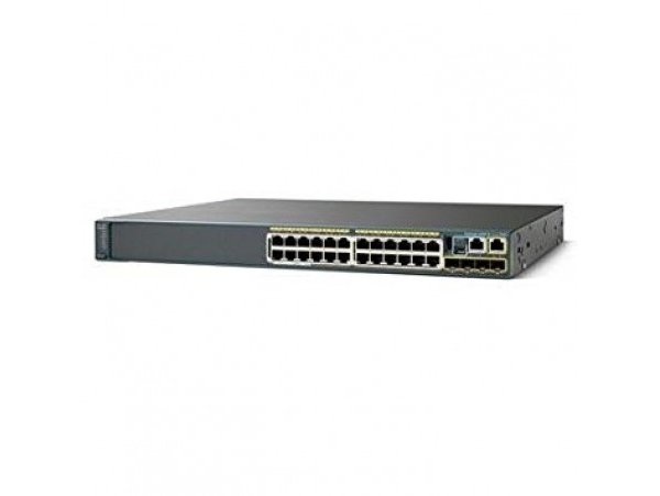 Cisco Catalyst 2960-XR 24 GigE, 4 x 1G SFP, IP Lite, WS-C2960XR-24TS-I