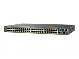 Cisco Catalyst 2960-XR 48 GigE, 4 x 1G SFP+, IP Lite, WS-C2960XR-48TS-I