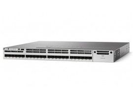 Cisco Catalyst 3850 24 Port 10G Fiber Switch IP Services, WS-C3850-24XS-E