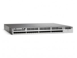 Cisco Catalyst 3850 24 mGig Port UPoE IP Services, WS-C3850-24XU-E