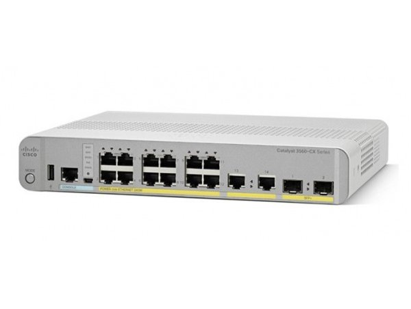 Cisco Catalyst 3560-CX 12 Port Data IP Base, WS-C3560CX-12TC-S