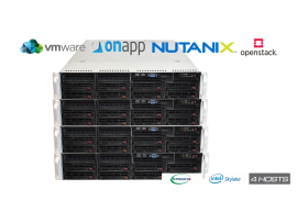 Supermicro On-Premises Private Cloud SUP5120SV (224 vCores, 768GB RAM, 24TB Storage)
