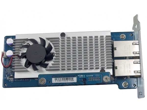 Card LAN QNAP DP 10Gbase-T Network expansion for tower model, LAN-10G2T-D, 885022003785