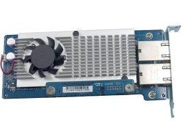 Card LAN QNAP DP 10Gbase-T network expansion for A01 series RM model ,LAN-10G2T-U, 885022003792