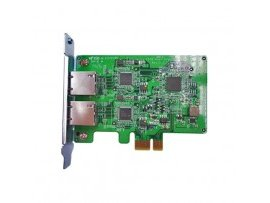 Card LAN QNAP DP 1 GbE network expansion for tower model, LAN-1G2T-D, 885022003983