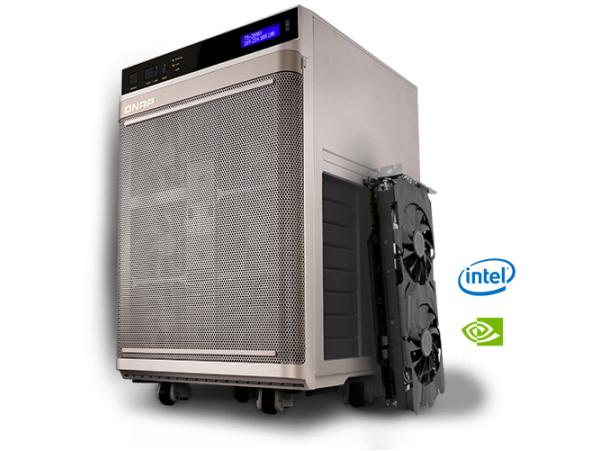 Thiết bị lưu trữ NAS QNAP TS-2888X chuyên dùng cho phát triển AI, Deep Learning