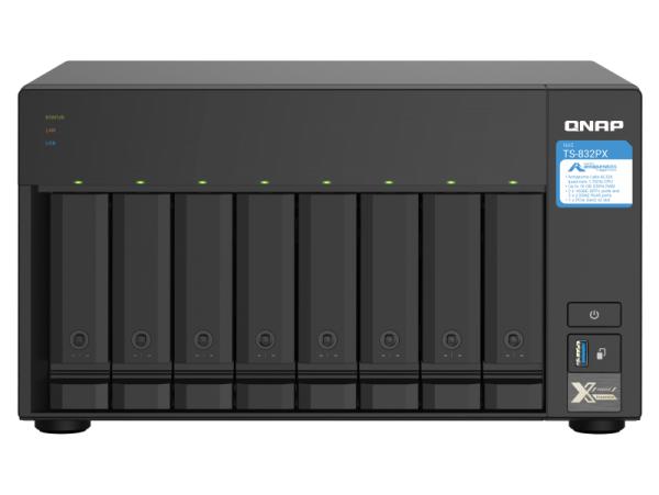 Thiết bị lưu trữ Qnap TS-832PX-4G