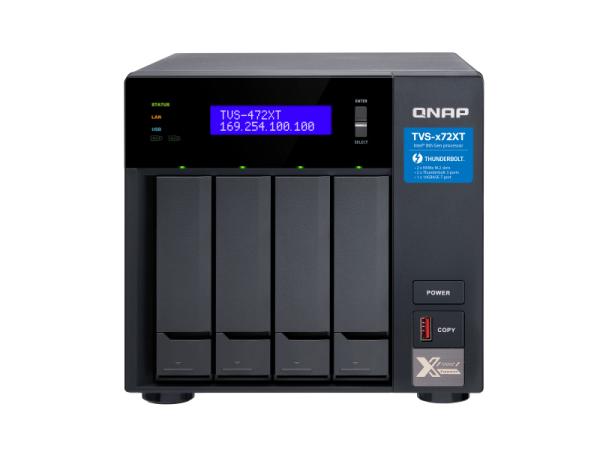 Thiết bị lưu trữ Qnap TVS-472XT-PT-4G