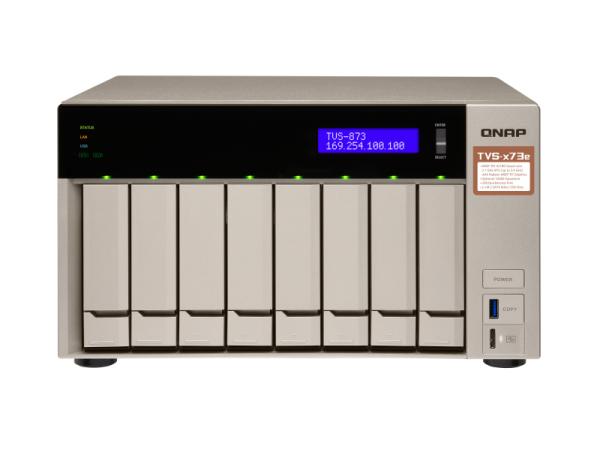 Thiết bị lưu trữ Qnap TVS-873e-4G