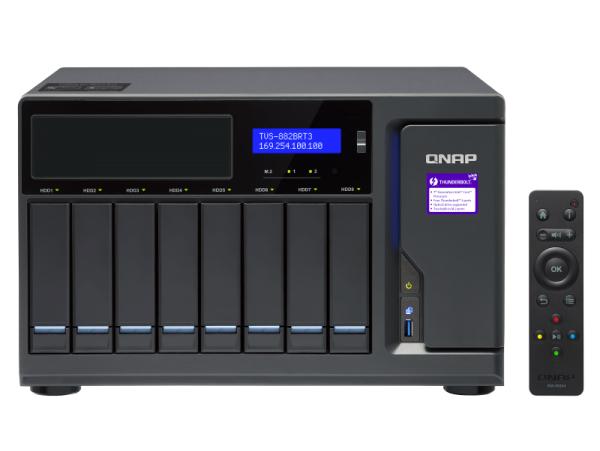 Thiết bị lưu trữ Qnap TVS-882BR-ODD-i5-16G