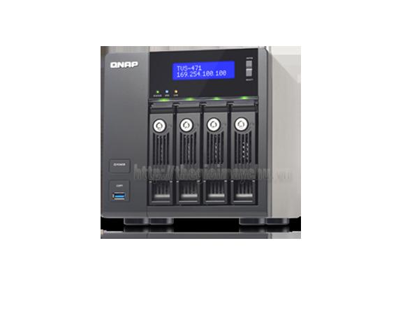 Thiết bị lưu trữ QNAP TVS-471-i3-4G