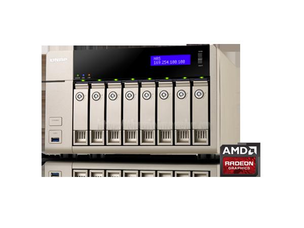 Thiết bị lưu trữ QNAP TVS-863-4G