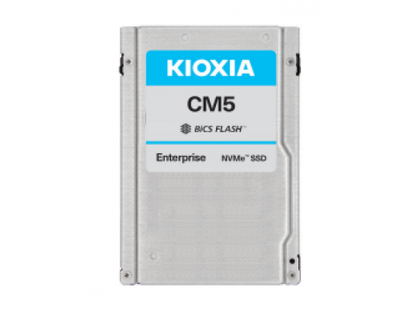 "SSD Toshiba CM5 800GB NVMe PCIe3x4 BiCS3 2.5"" 15mm SIE 3DWPD (KCM5XVUG800G)"