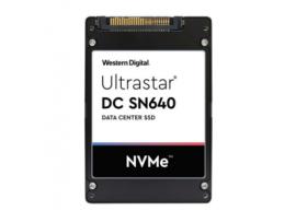 """SSD HGST Ultrastar SN640 3840GB 7mm 2.5"""" NVMe U.2 TLC ISE 0.8DWPD (WUS4BB038D7P3E3)"""