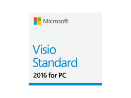 Visio Std 2016 32-bit/x64 English EM DVD