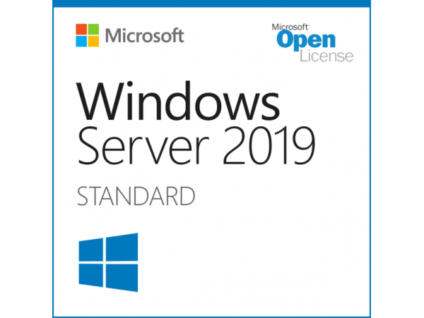 Microsoft Windows Server Standard 2019 16-Cores Open Business