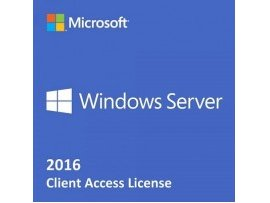 Windows Server 2016 Remote Desktop Services CAL Client Access License (5 User) (SFT-MS-WS16RDSCAL5U)