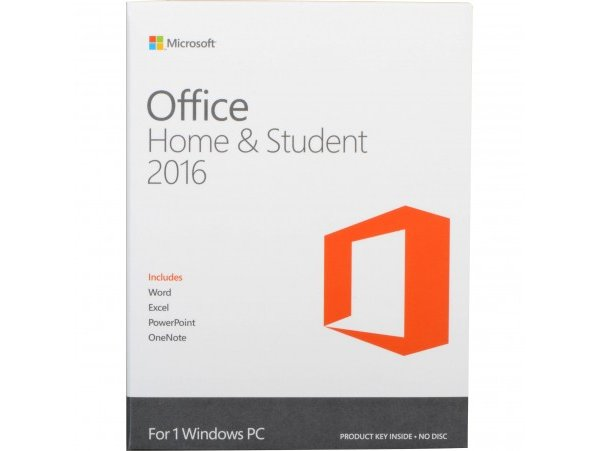 Office Mac Home Student 2016 English APAC EM Medialess P2