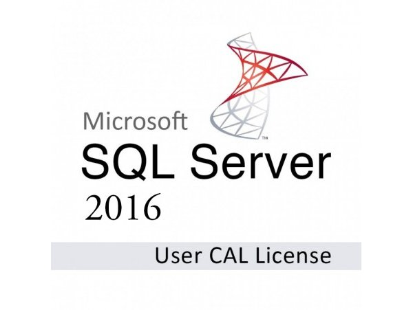 Microsoft SQL Server 2016 Client Access License (1 User) (SFT-MS-SQL16CAL1U)