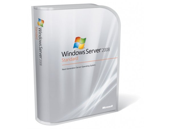 MS Windows Svr 2008 R2 Standard Edition 589256-371 (1-4 CPU, 5 CAL) ROK - English (For HP)