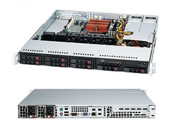 Chassic Supermicro CSE-113AC2-605WB
