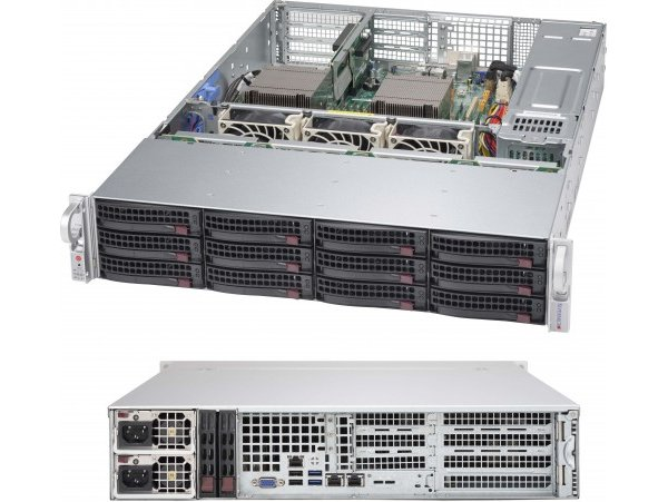 Chassic Supermicro CSE-829HE1C4-R1K62LPB