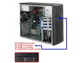 Chassic Supermicro CSE-732D4-500