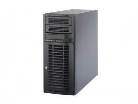Máy chủ Supermicro USA Tower CSE-733T-500B Silver SP-4110