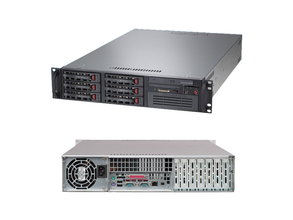 Máy chủ Supermicro USA 2U CSE-822T-400LPB E5-2620 v4